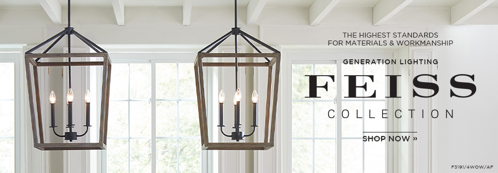 Feiss Collection | The highest standards for materials & workmanship | Shop Now