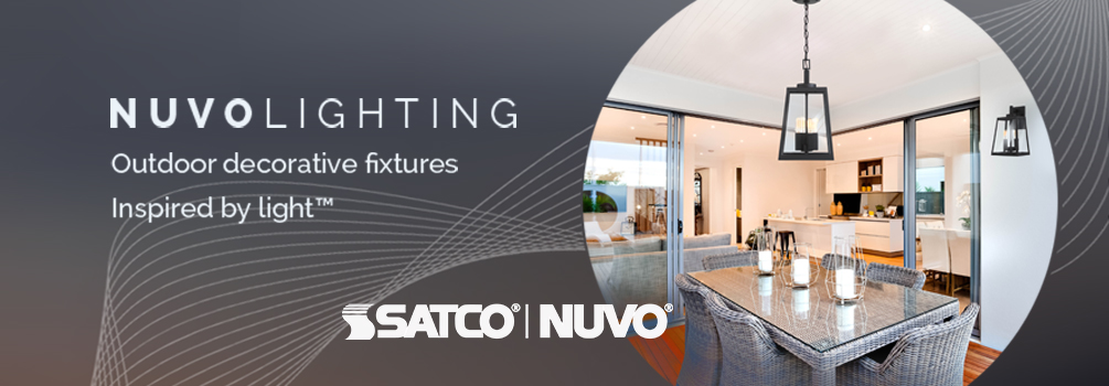 Nuvo Lighting | Outdoor Decorative Fixtures Inspired by Light