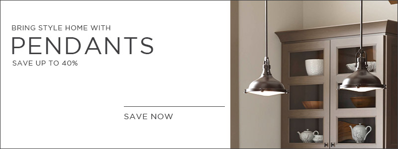 Bring Style Home with Pendants | Save Up To 40%