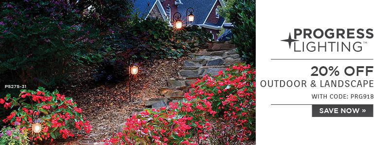 Beau ... Progress Lighting | 20% OFF Outdoor U0026 Landscape | With Code: PRG918