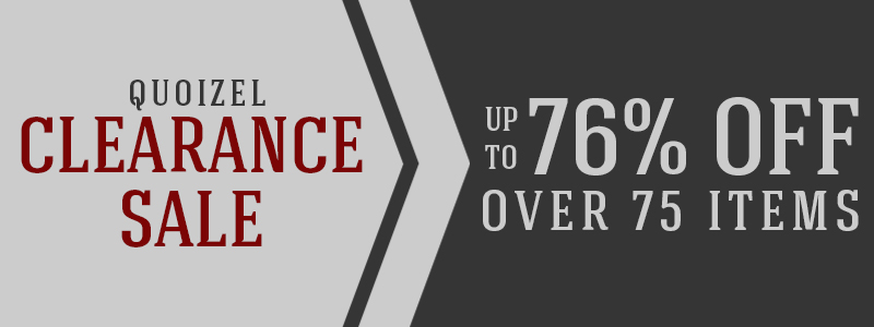 Save up to 76% on over 75 QUOIZEL items!