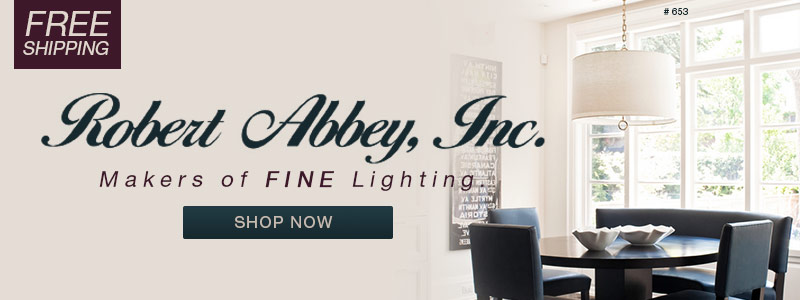 ROBERT ABBEY INC, Makers of FINE Lighting!