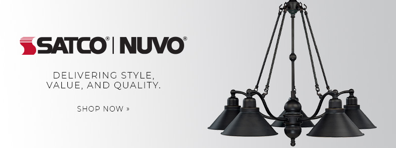 Satco | Nuvo | Delivering Style, Value, and Quality. | Shop Now