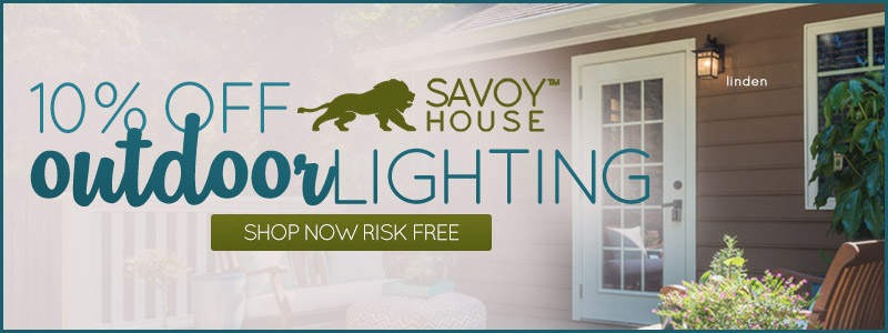 Savoy House | 10% Off Outdoor Fixtures