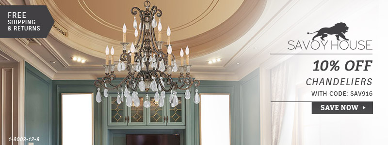 Savoy House | 10% Off Chandeliers