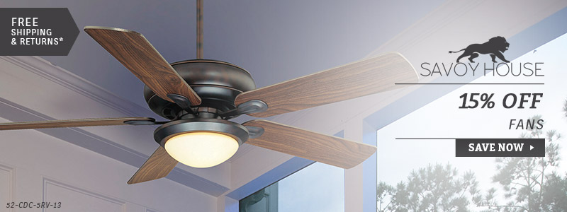 Savoy House | 15% Off Ceiling Fans