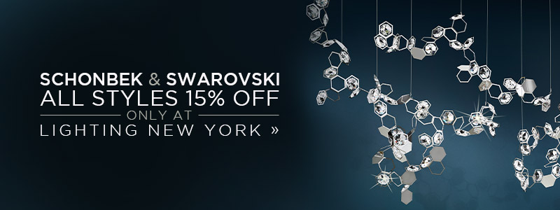 Schonbek & Swarovski | 15% Off the Entire Line | No Code Required | Save Now