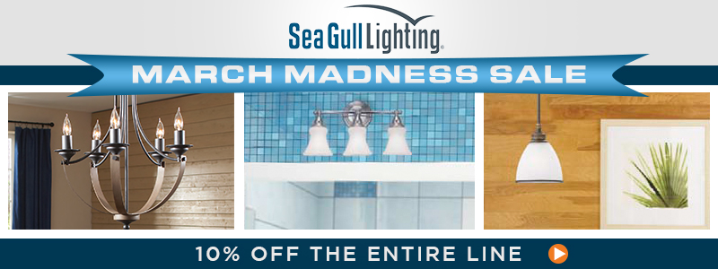 MARCH MADNESS SALE! Save 10% on all SEA GULL!