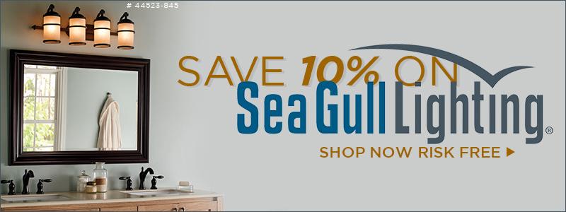 10% Off Sea Gull Lighting!