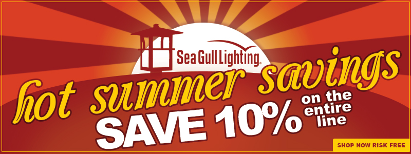 HOT SUMMER SAVINGS: Save 10% on the ENTIRE SEA GULL Line!