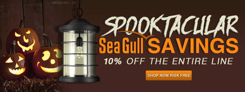 SPOOKTACULAR SEA GULL SAVINGS! 10% off the entire line!