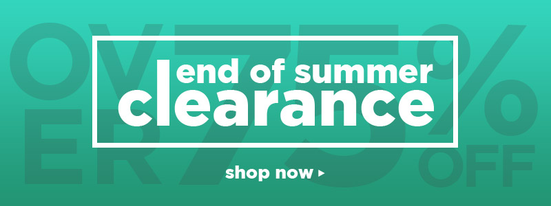 SUMMER CLEARANCE | Over 75% off