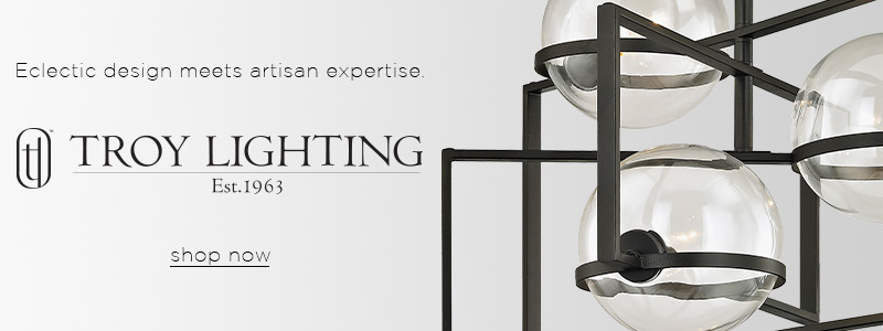 Troy Lighting | Eclectic design meets artisan expertise | shop now