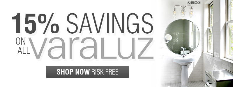 VARALUZ | 15% off The ENTIRE Line!