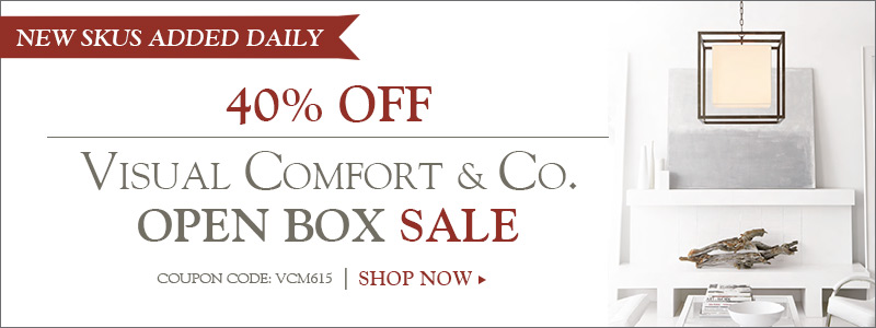 40% off Visual Comfort Open Box Sale!