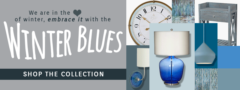 SHOP THE WINTER BLUES COLLECTION