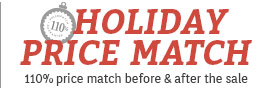 112% Holiday Price Match Guarantee!