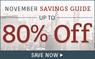 Up to 80% off select SKUs!
