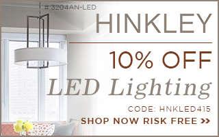 10% Off HINKLEY LED Lighting!