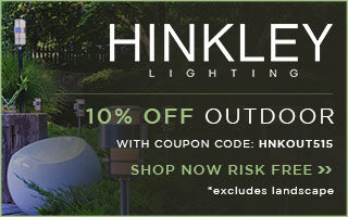 10% OFF Hinkley Outdoor!