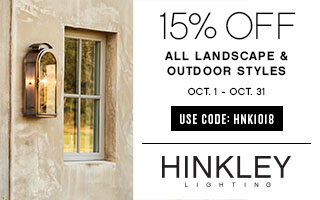 Hinkley | 15% OFF All Landscape & Outdoor Styles | use code: HNK1018