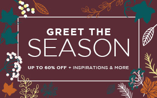 Greet The Season | Up To 60% OFF + Inspirations & More