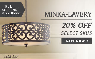 Minka-Lavery | 20% Off Select SKUs