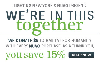 We Donate $5 to Habitat for Humanity with Every NUVO Purchase. As a Thank You, Save 15% with code: NUV1018