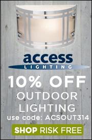 10% OFF ACCESS OUTDOOR LIGHTING!