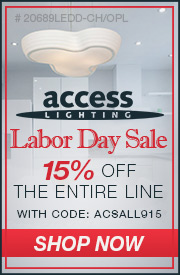 ACCESS Lighting | 15% off The ENTIRE Line
