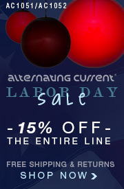 LABOR DAY SALE: 15% off the ENTIRE ALTERNATING CURRENT Line!