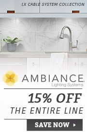 Ambiance Lighting | 15% Off the Entire Line