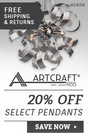 Artcraft | 20% Off Select Pendants