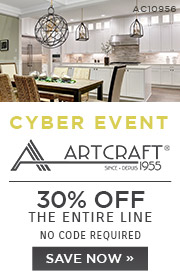 Cyber Event | Artcraft | 30% Off the Entire Line | No Code Required | Save Now