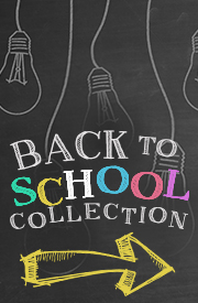 Shop the BACK to SCHOOL COLLECTION!