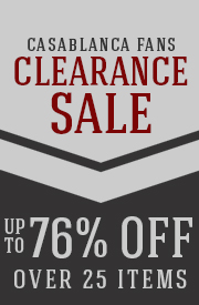 Save up to 76% on over 25 CASABLANCA items!