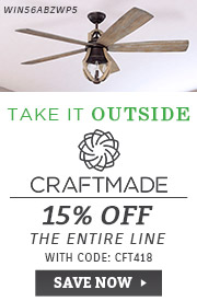 Craftmade | 15% OFF The Entire Line