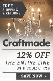 Craftmade | 12% Off the Entire Line
