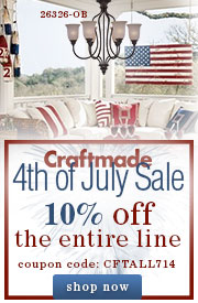 Save 10% on the Entire Craftmade Line!