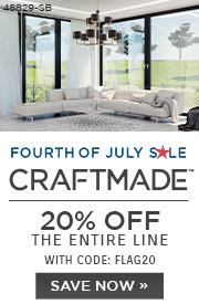 Fourth of July Sale | Craftmade | 20% Off the Entire Line | With Code: FLAG20 | Save Now