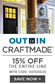 Out is In | Craftmade | 15% Off the Entire Line | With Code: OUTSIDE20 | Save Now