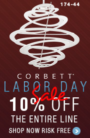 LABOR DAY SALE: 10% off the ENTIRE CORBETT Line!
