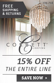 Corbett Lighting | 15% Off the Entire Line