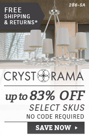 Crystorama | Up To 83% OFF Select Skus