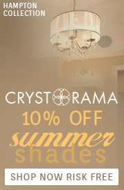 Save 10% during Crystorama's Summer Shade Event!