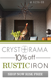 CRYSTORAMA | 10% off Rustic Iron