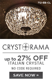 Crystorama | 12% OFF Italian Crystal | no code required