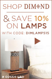 SHOP DIMOND & SAVE 10% on LAMPS!