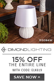 Dimond Lighting | 15% Off The Entire Line | With Code: ELK619 | Save Now