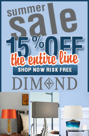 Save 15% Off the Entire Dimond Lighting Line!